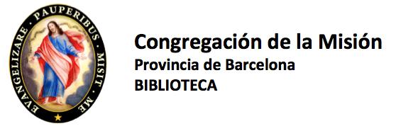 Congregación de la Misión. Provincia de Barcelona. Biblioteca